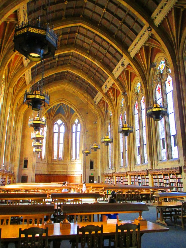University of Washington Suzzallo Library